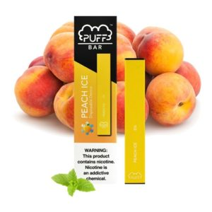 Peach Ice Disposable E-Cigarette by Puff Bar Review