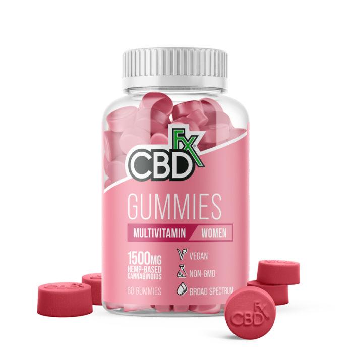 Multivitamin CBD Gummies for Women by CBDFX Review